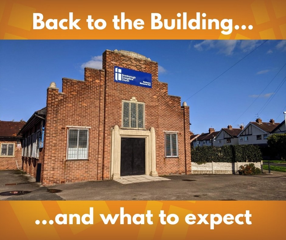 What to expect back at the building