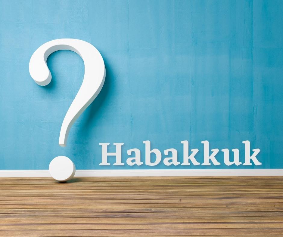 Cover image for sermon on Habakkuk