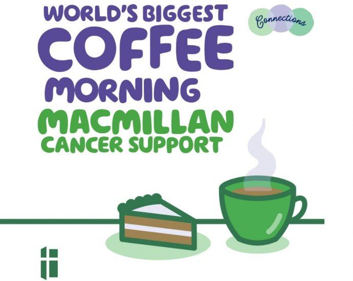 Maxmillan worlds biggest coffee morning
